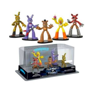 HeroWorld Five Nights at Freddy's – 5-Pack (Exclusivo)